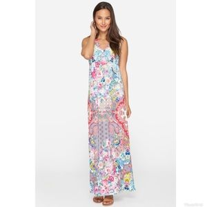 Johnny Was Marbay floral maxi dress